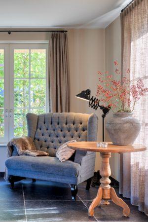 LEEM WONEN villa Nieuw Lekkerland leeshoek