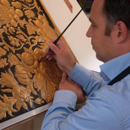 LEEM WONEN Goudleer-atelier Van Soest craft