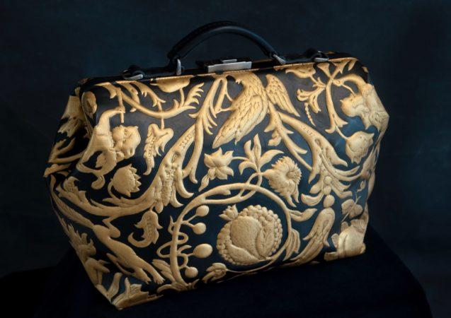 LEEM WONEN Goudleer-atelier Van Soest handbag