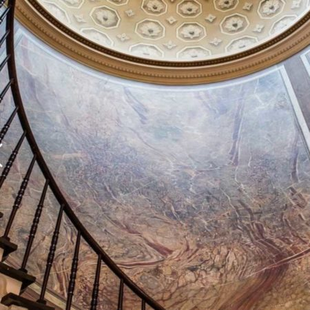LEEM WONEN Pillows Grand Hotel Reylof Stairway