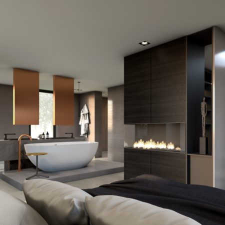 LEEM WONEN C'avante Interior & Design bedroom en suite