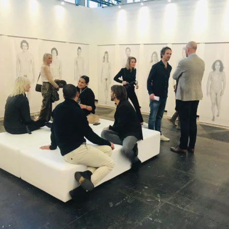 LEEM WONEN KunstRAI 2019 Micky Hoogendijk The Nudes and visitors