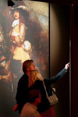 LEEM WONEN Discover Rembrandt aanraken mag