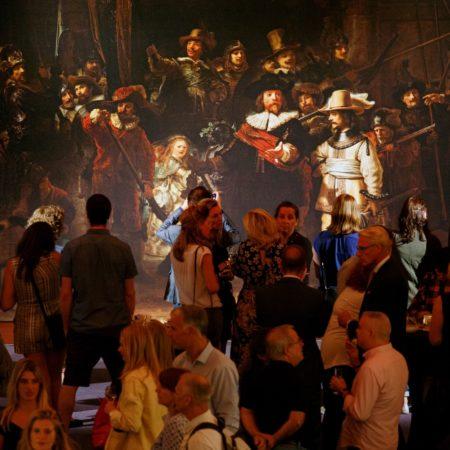 LEEM WONEN Discover Rembrandt de opening