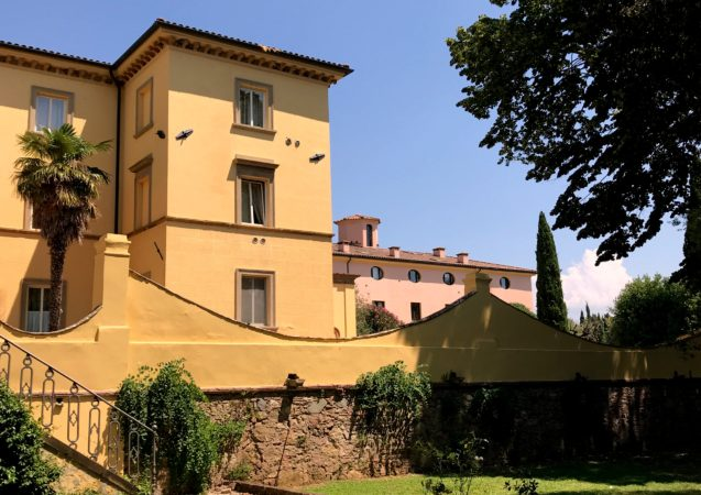 LEEM WONEN Toscane Hotel Antico Borgo landhuis