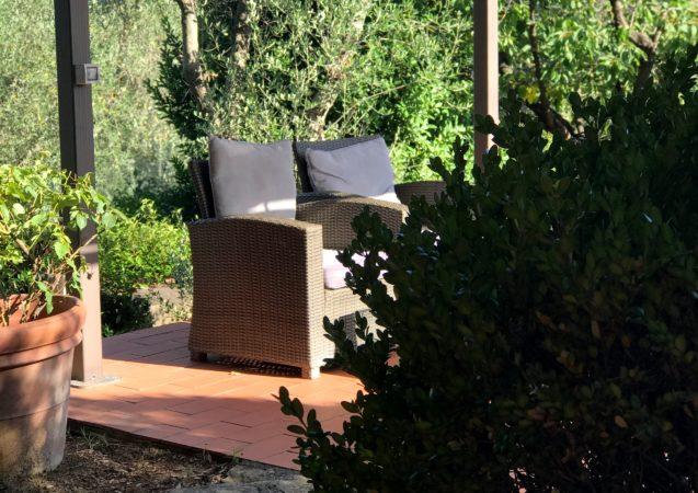 LEEM WONEN Toscane Villa Saulina terras