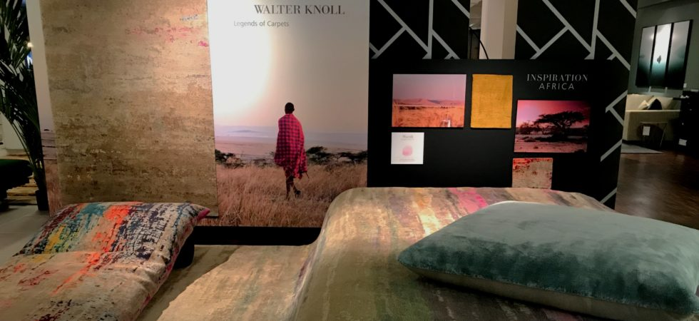 LEEM WONEN Home Couture Event Walter Knoll carpets