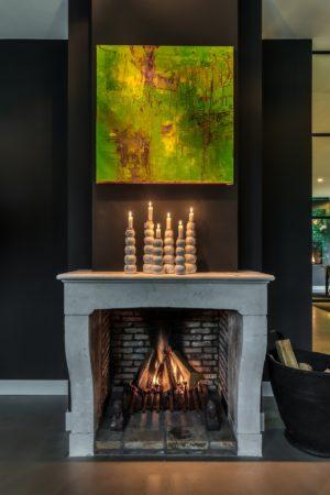 LEEM WONEN StalenDeurenHuys fireplace