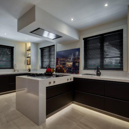 LEEM WONEN Studio De Blieck villa kitchen