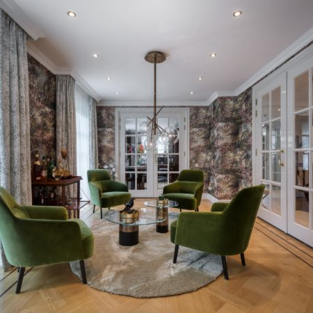 LEEM WONEN Studio De Blieck villa salon
