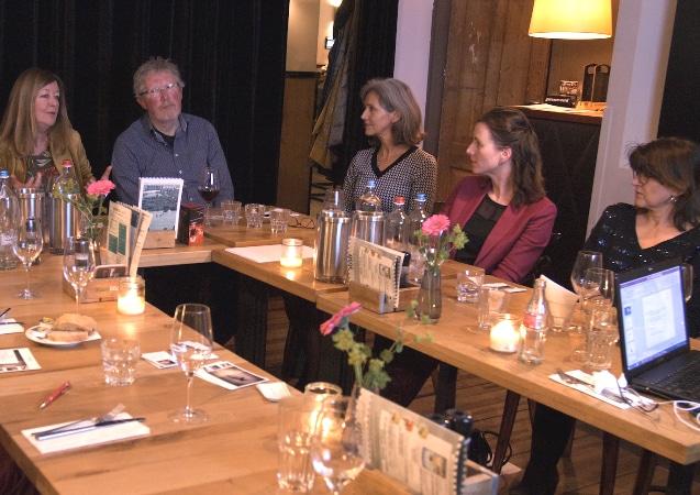LEEM WONEN Dinner Des Arts dialogue
