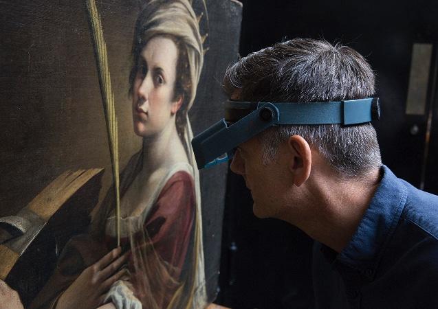LEEM WONEN Artemisia Gentilischi National Gallery London exhibition