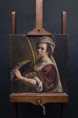 LEEM WONEN Artemisia Gentilischi National Gallery London portrait
