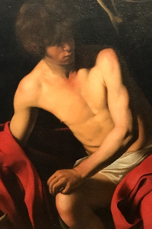 LEEM WONEN Caravaggio-Bernini John the Baptist
