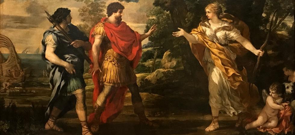 LEEM WONEN Caravaggio-Bernini The Meeting of Aeneas and Venus
