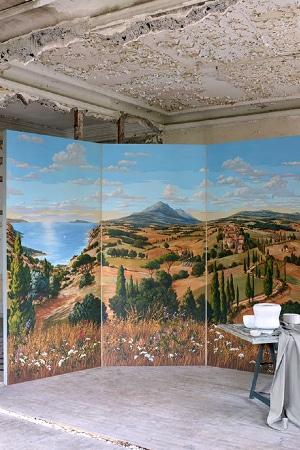 LEEM WONEN Pierre Frey Voyage en Toscane Painting