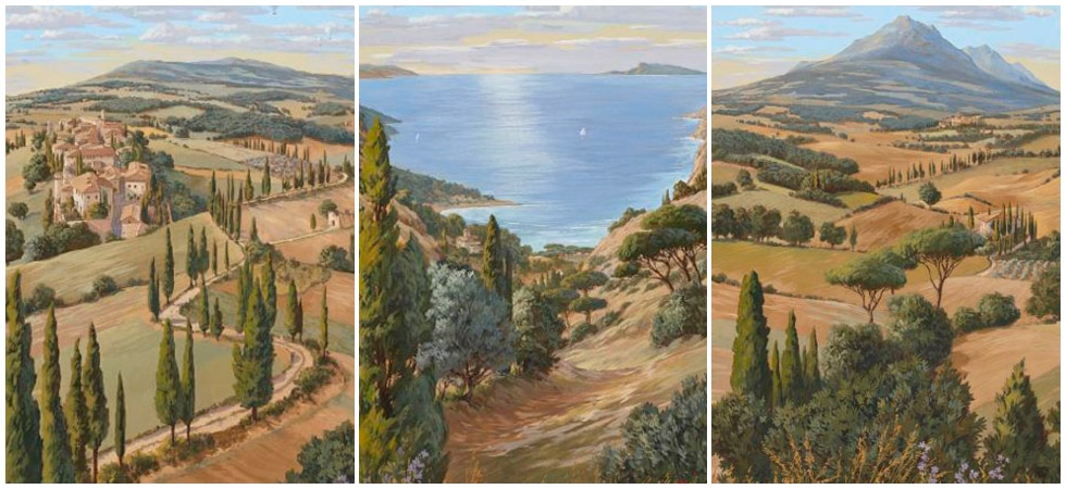 LEEM WONEN Pierre Frey Voyage en Toscane