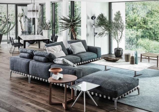 LEEM WONEN Flexform Alserio Lake sofa