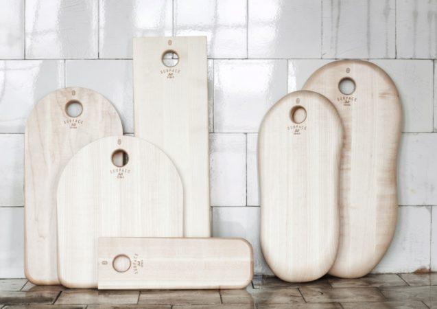 LEEM WONEN Serax tafel accessoires Surface snijplank